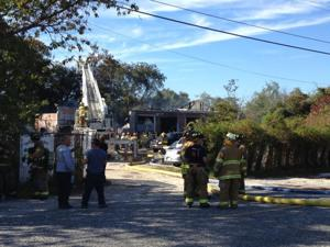 Lower car yard fire