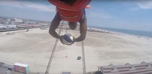 Watch this amazing Harlem Globetrotters basketball shot in Wildwood