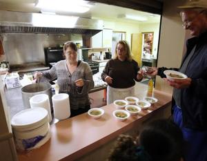 Feeding friends and neighborsVolunteers maintain active network of local food pantries