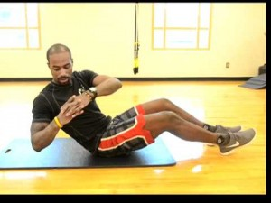 Your Workout: Oblique Elbow Taps