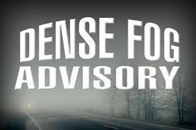 Dense Fog Advisory for South Jersey