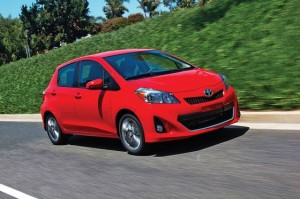 All-New 2012 Toyota Yaris: Able, Agile Liftback