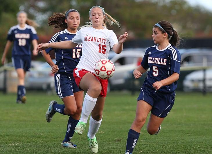 millville ocean city girls soccer