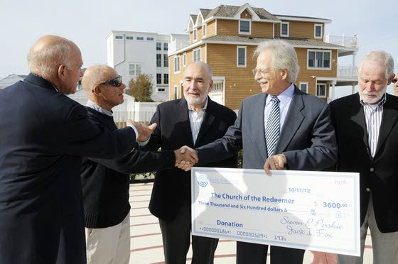 Jewish Federation gift will help rebuild Church of the Redeemer
