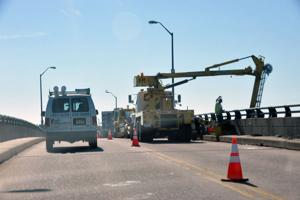 LONGPORT BRIDGE LANE CLOSING