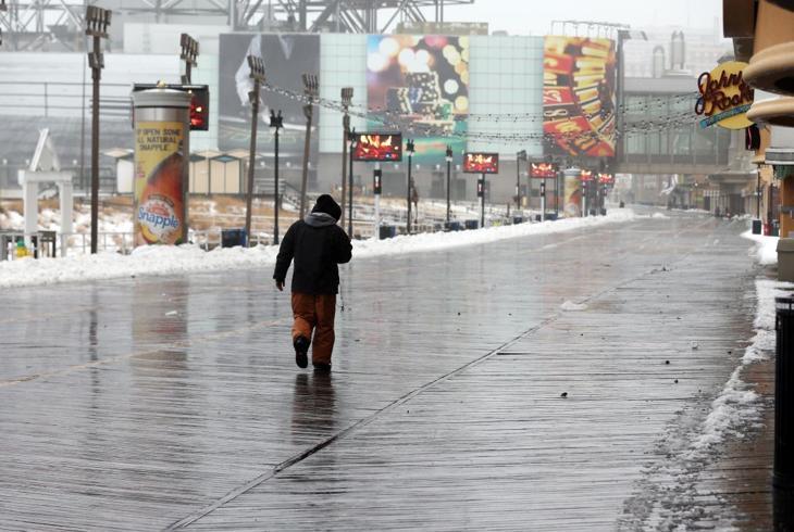 Snow storm coverage