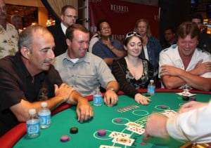 Scott Cronick's Casino Action: New sushi bar at Showboat; Hooters calendar shot at Trop