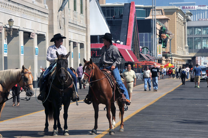 Cowboys On Boardwalk
