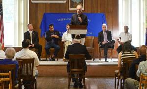 Candidates make pitch to veterans