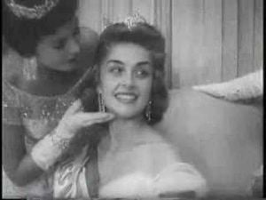 MISS AMERICA 1956 NEWS EVENT