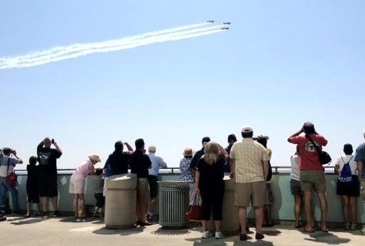 Airshow practice
