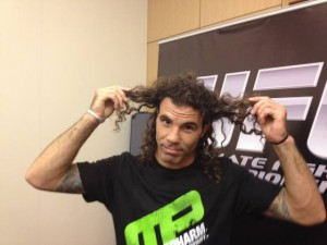 UFC fighters Clay Guida, Gray Maynard straighten out hair problem for bout Friday at Revel