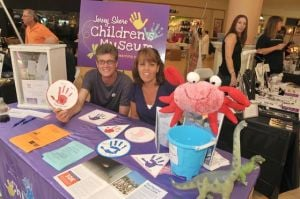Jersey Shore Children's Museum Begins Fundraisers To Help Retrofit New Facility: President of the Board Matthew Gilliano and founder of the South Jersey Children's Museum Linda Szypula, both of the Scullville section of Egg Harbor Township, offered information about the museum while manning their booth at the Hamilton Mall.