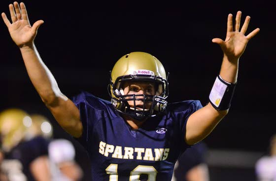 Pollock runs for 235 yards, Spartans take care of biz