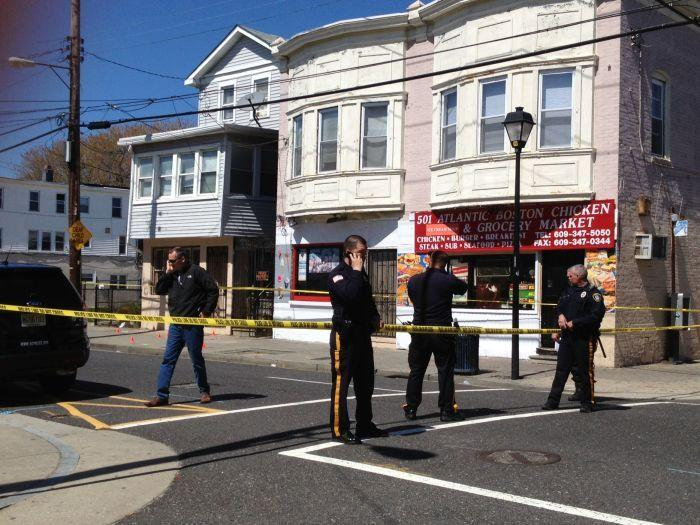 Scene of Atlantic City shooting