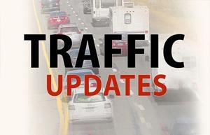 Sunday, July 24 traffic updates