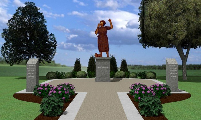 Fannie Lou Hamer statue