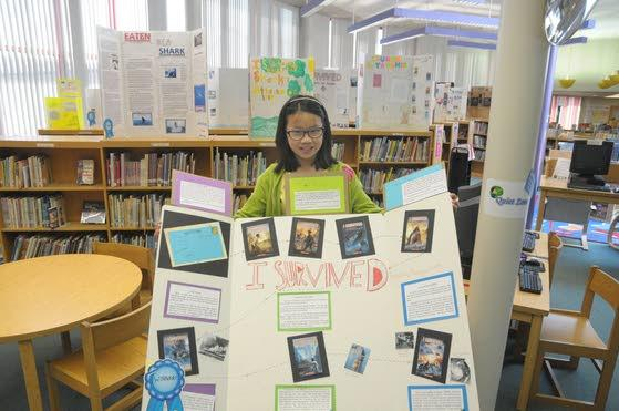 'Survived' author meets eager readers at Hess school