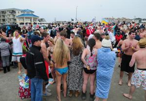 The Plunge must go on in storm-battered Sea Isle City