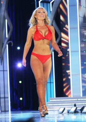 Miss America 2 PRELIMS: Miss West Virginia Miranda Harrison contestant walks the runway during swimsuit portion of the preliminary second round of the Miss America pageant at Boardwalk Hall in Atlantic City, New Jersey, September 11 2013 - Photo by Edward Lea