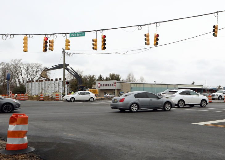 Parkway Construction In Cape May County Moves In Right Direction Cape May County