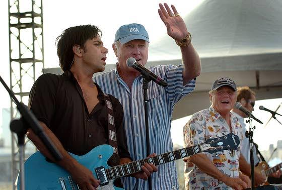 Borgata-bound Beach Boys: Legendary California band reunites for hit-filled show