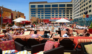 H2O POOL AND BAR: Golden Nugget's H20 Pool hosts a polar plunge 2 p.m., Jan. 1. Don't worry — the hot tubs and fire pits will be open. - Ben Fogletto