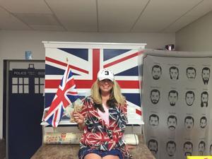 Local Britons celebrate, stock advisers urge calm after Brexit