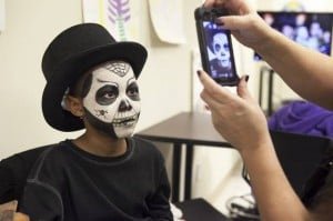Aesthetic makeup course finishes with Halloween-themed contest