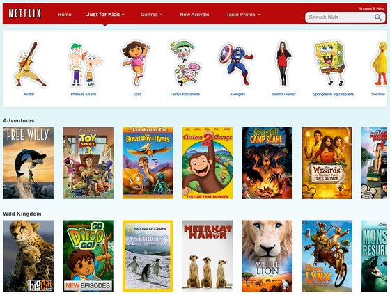 Tech: Netflix gets kid-friendly as it raises U.S. prices