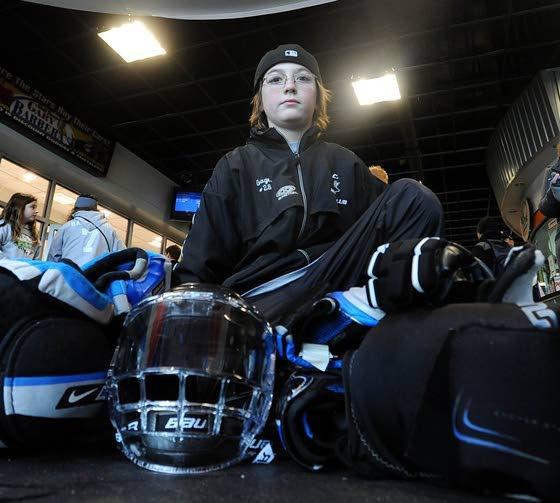 Boy grateful for community's big assist in his return to ice