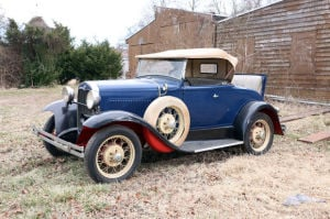 Antique Automobiles in the Cox Auction