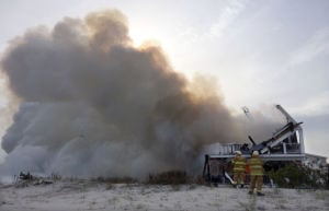 Sea Isle City Beach Fire