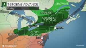 Five day heat wave starts today, peaks this weekend
