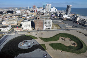 Pinnacle: An aerial view of the Pinnacle site in Atlantic City.  - Michael Ein