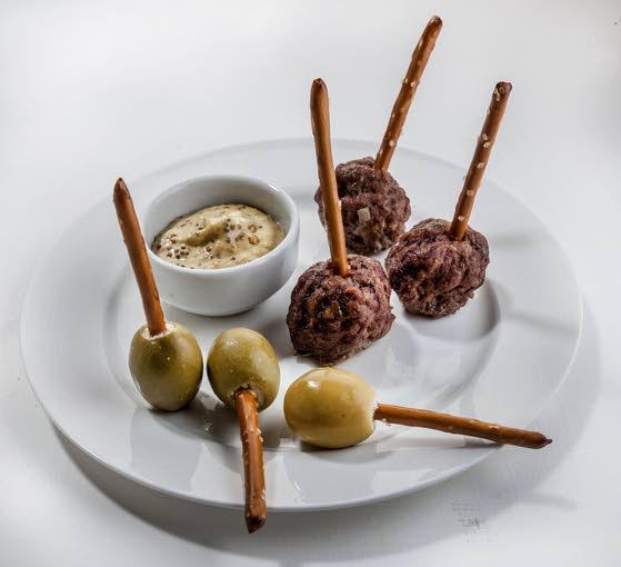 Let pretzel sticks give your party a lift