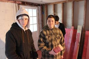 Boy Scouts repair Sandy-damaged home in Ventnor