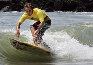 Surf Miller Surfing