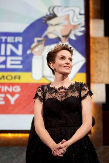 Tina Fey has to laugh over humor award