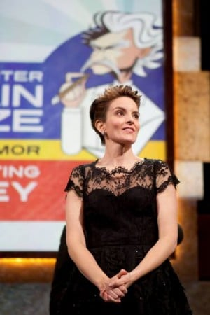 Tina Fey has to laugh over humor award