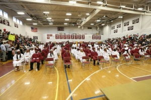 Pleasantville Graduation: Graduates of 90th Commencement Ceremony Pleasantville Graduation Wednesday, June 25, 2014. - Edward Lea