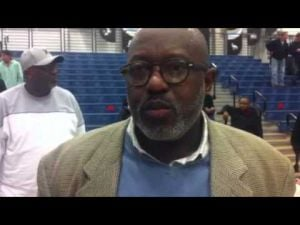 Gene Allen CAL boys basketball post game interview