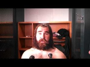 Eagles center Jason Kelce after loss to Chiefs.