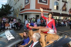 MISS AMERICA PARADE: Miss District of Columbia Bindhu Pamarth. - Edward Lea