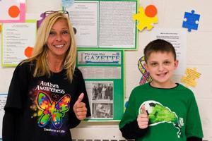 Sandman, Abrams schools celebrate 10th anniversary of Bubbles 4 Autism
