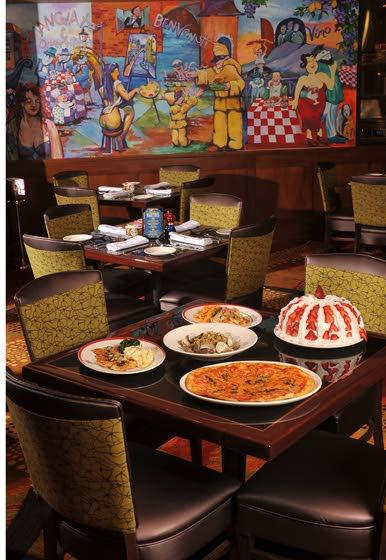 Italian Dining for a StealGolden Nugget's Grotto has traditional, inexpensive meals
