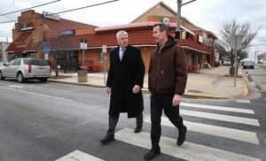 Shore downtowns work to keep up appearances