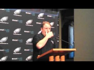 Eagles coach Chip Kelly talks about new QB Matt Barkley