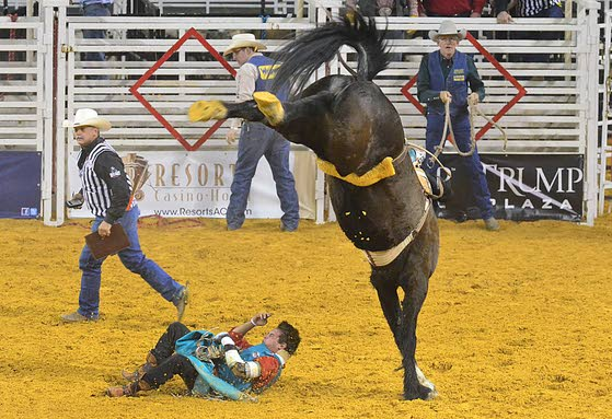 Rodeo brings fans, cowboys, protesters to A.C.