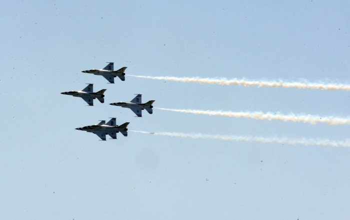 Atlantic City Airshow practice day